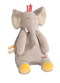 Moulin Roty Les Papoums Musical Elephant