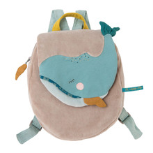 Moulin Roty Josephine the whale Backpack