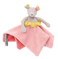Moulin Roty Mademoiselle et Ribambelle Mouse Lovey Security Blanket