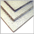Laminated Plywood / All Thicknesses / Aluminum Stucco