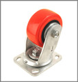 "Xtra Heavy Duty Caster / 4"" (100mm) / Swivel / No Brake"