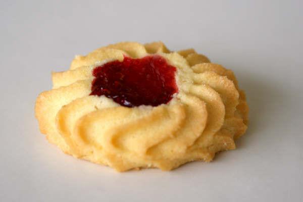 Vanilla Butter Star Cookie Scordato Bakery Inc