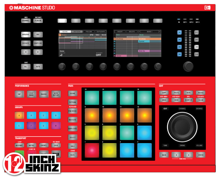 native instruments maschine studio skinz colors. Black Bedroom Furniture Sets. Home Design Ideas