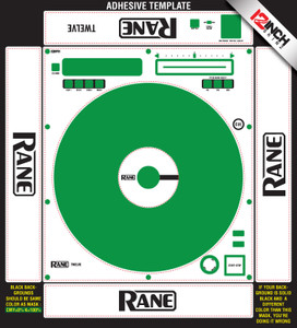 Rane  Twelve Skinz  Custom (SINGLE) - ADHESIVE
