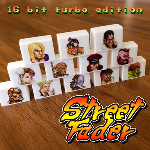 Fader Caps 12 pc - Street Fader II Turbo