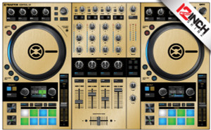 Native Instruments Kontrol S4MK3 Skinz - Metallics