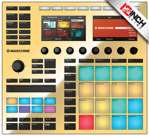 Native Instruments Maschine MK3 Skinz - Metallics