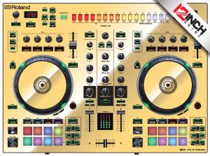 Roland DJ-505 Skinz - Metallics
