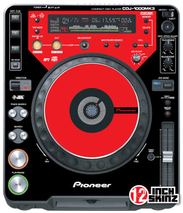 Pioneer CDJ-1000MK3 Skinz (PAIR) - Colors