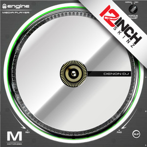 Control Disc OEM Denon SC5000M (SINGLE) - Cue Metallics