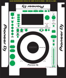Pioneer CDJ-900nexus-Skinz- CUSTOM