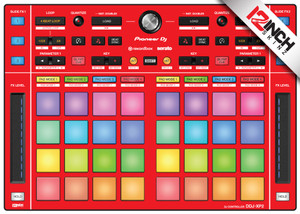 Pioneer DDJ-XP2 Skinz - Colors