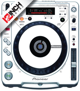Pioneer CDJ-800MK2 Skinz (PAIR) - Colors