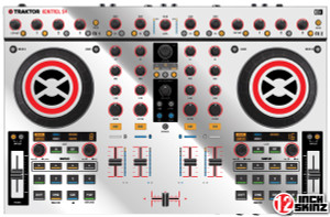 Native Instruments Kontrol S4 Skinz - Metallics