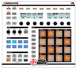 Native Instruments Maschine MK1 Skinz - Colors