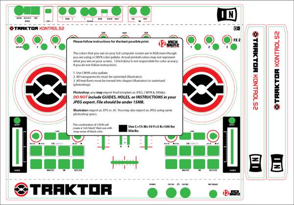 native instruments kontrol s2 skinz custom 12inchskinz rh 12inchskinz com traktor kontrol s2 manuel traktor kontrol s2 service manual