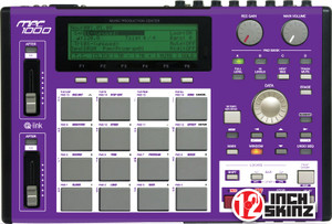 Akai MPC1000 Skinz - COLORS