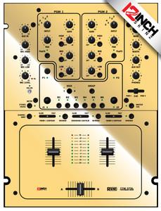 Rane TTM57 Skinz - Metallics