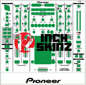 Pioneer DJM2000 Skinz- CUSTOM