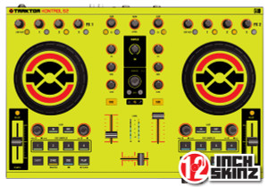 Native Instruments Kontrol S2 Skinz - UV Fluorescent