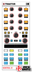 Native Instruments Kontrol X1-MK2 Skinz - Colors