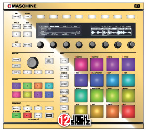 Native Instruments Maschine MK2 Skinz - Metallics