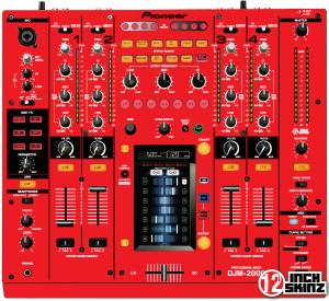 Pioneer DJM-2000 Skinz - Colors