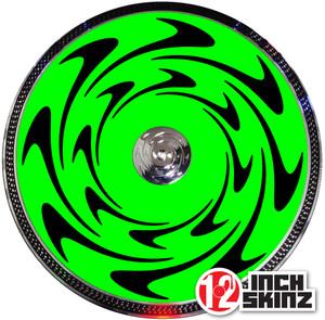 Denon S3700-3900 Control Record Skinz - Gloss UV (PAIR)