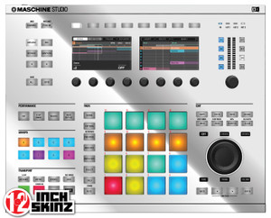 Native Instruments Maschine Studio Skinz - Metallics