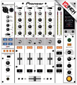 Pioneer DJM-800 Skinz - Colors