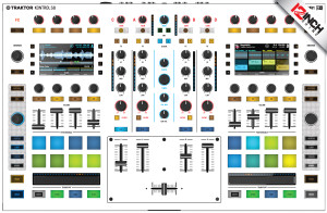 Native Instruments Kontrol S8 Skinz - Colors
