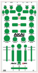 Akai AMX Skinz- CUSTOM