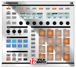 Native Instruments Maschine MK1 Skinz - Metallics