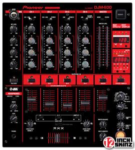Pioneer DJM-600 Skinz - Colors