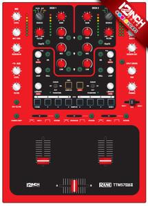 Rane TTM57MK2 Caps & Magnetic Skinz Kit- Colors