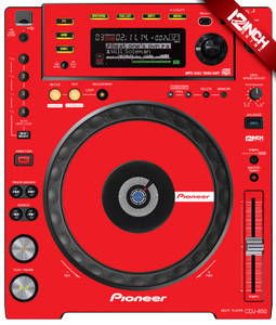 Pioneer CDJ-850 Skinz (PAIR) - COLORS