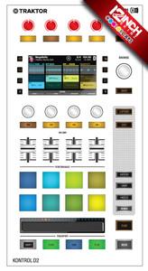 Native Instruments Kontrol D2 Caps & Skinz Kit - Colors