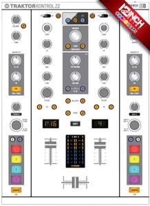 Native Instruments Kontrol Z2 Caps & Skinz Kit - Colors