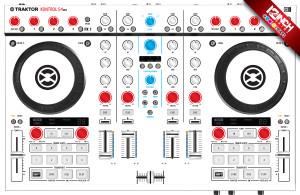 Native Instruments Kontrol S4MK2 Caps & Skinz Kit - Colors