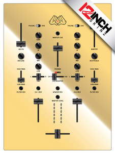 Dj-Tech TRX Skinz - Metallics