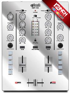 DJ-TECH DIF-1M Caps & Magnetic Skinz Kit - Metallic