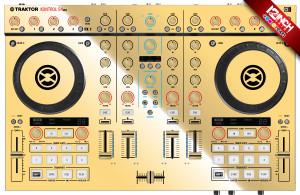Native Instruments Kontrol S4MK2 Caps & Skinz Kit - Metallics