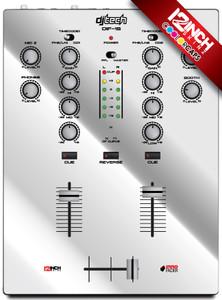 DJ-TECH DIF-1S Caps & Magnetic Skinz Kit - Metallic
