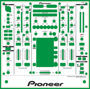 Pioneer DJM-2000nexus Skinz- CUSTOM