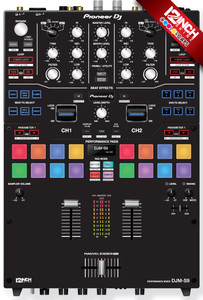 Pioneer DJM-S9 Knobs Casps & Skinz Kit - Colors