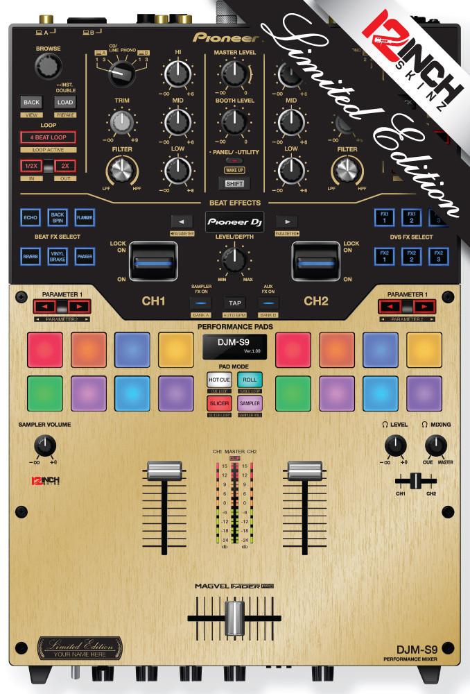 Pioneer DJM-S9 - Metallics Gold (Limited)