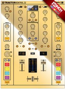 Native Instruments Kontrol Z2 Caps & Skinz Kit - Metallics