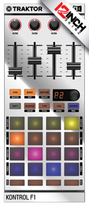 Native Instruments Kontrol F1 Skinz - Metallics