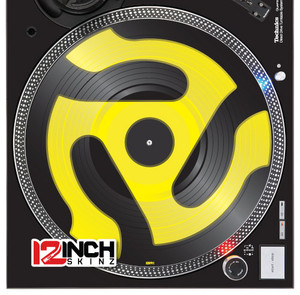 Serato Control Vinyl (SINGLE) - 45 Adapter