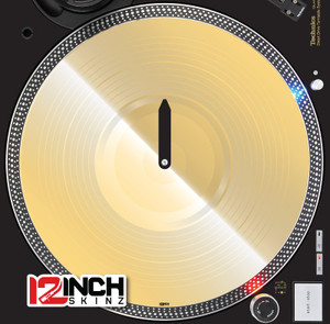 Serato Control Vinyl (SINGLE)- Gold Mirror